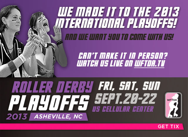 WFTDA Division 1 Playoffs